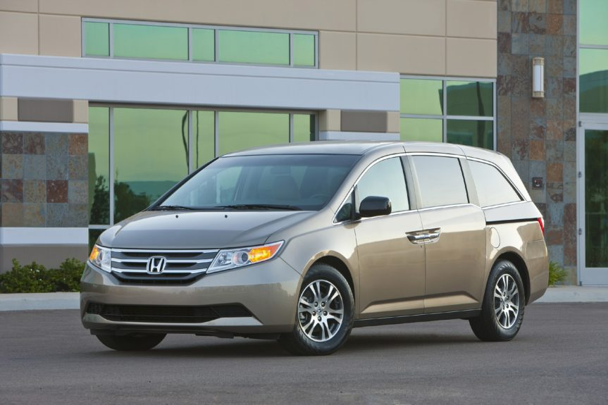 Honda Odyssey LX: with a 6-cylinder engine will cost you on average about $1,146 annually.