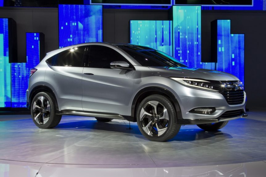 Honda gave us a glimpse of their new Urban Concept SUV