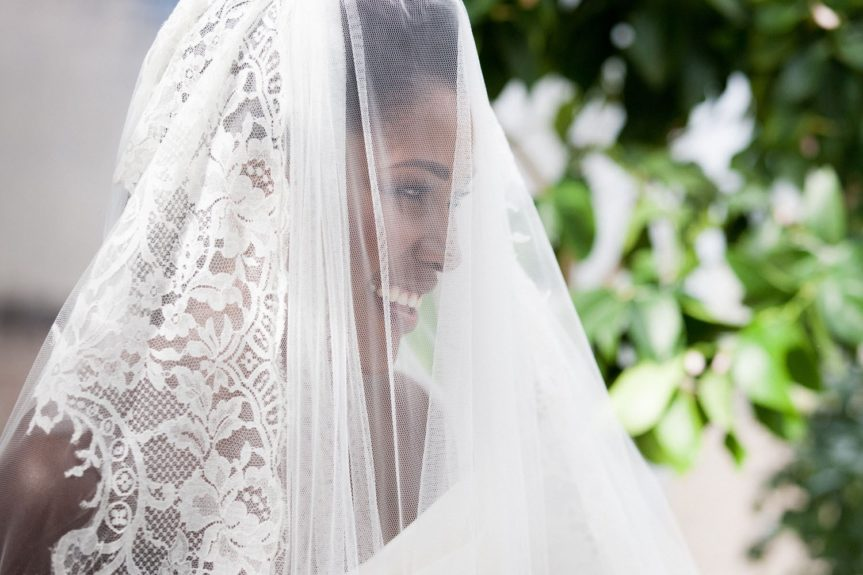That Smile: The bride is glowing on her special day