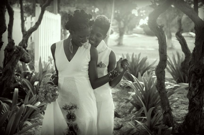 Brides Dr. Emma Benn and Nicole Y. Dennis wed in Jamaica, a first for the island