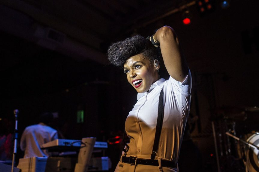 """Janelle Monáe performs """"Tightrope"""" at the Bessie 81 Theatre Tour"""