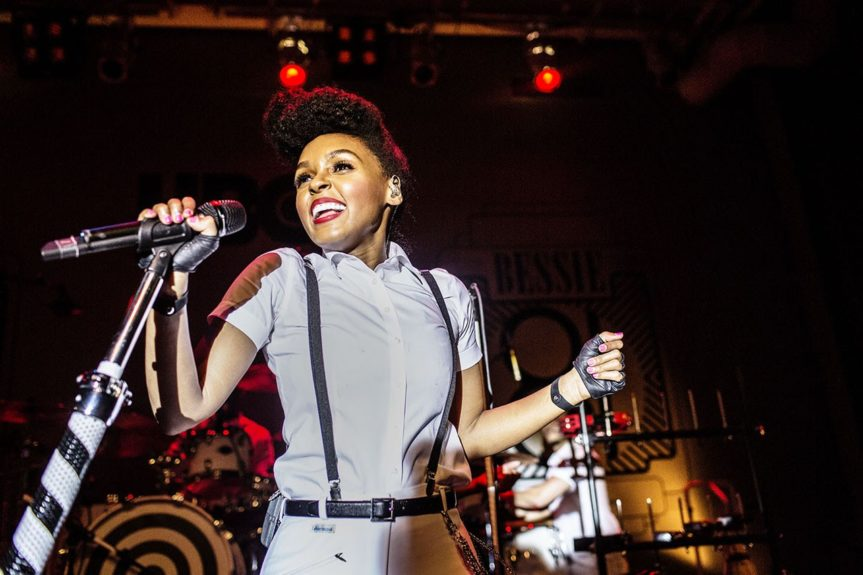 Janelle Monáe shimmies and shakes on the Bessie 81 Theatre Tour