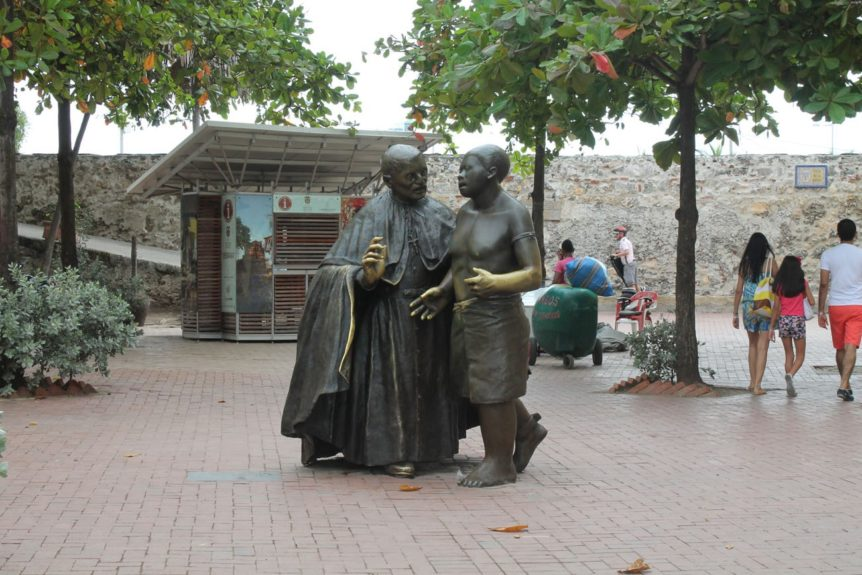 Statue of St. Peter Claver