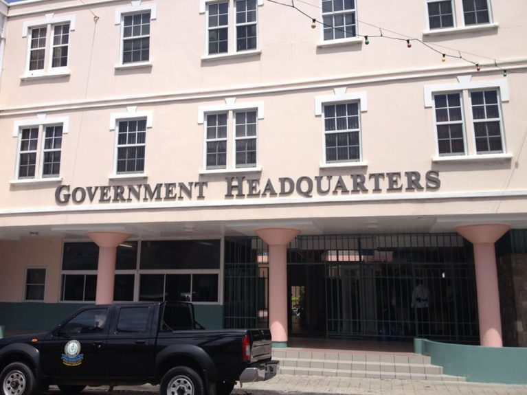 St. Kitts Government Headquarters, where the country's family records are housed