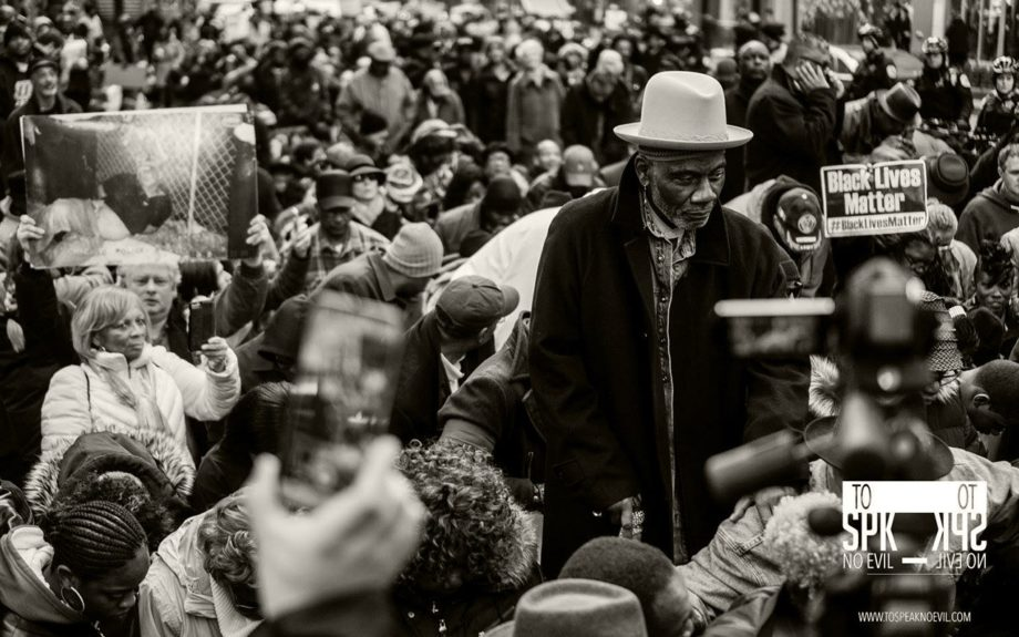 <p> 	CHICAGO: Unity March and Rally for Justice in Chicago on December 6, 2015 led by the Rainbow PUSH Coalition. (To Speak No Evil/Alvin C. Jacobs, Jr.)</p>