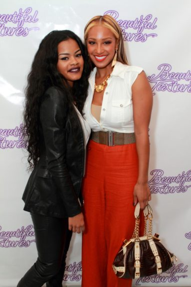 Teyana Taylor and Olivia both looked amazing! Teyana rocked a Rapunzel-inspired look while Olivia's streaked ombre style is popular for summer into fall.