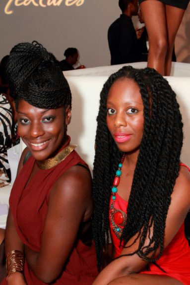 Ihuoma Mambo and Atanga Rockyatu Otoo show how braids can be done – thin and in a chic updo, or thicker, funkier, and meant to make a style statement.