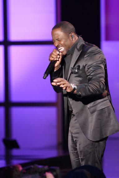 Johnny Gill tapes 'Verses and Flow' at Siren Studios in Hollywood