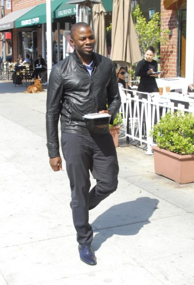 March 26, 2012: Actor Derek Luke is seen out and about in Beverly Hills, CA.