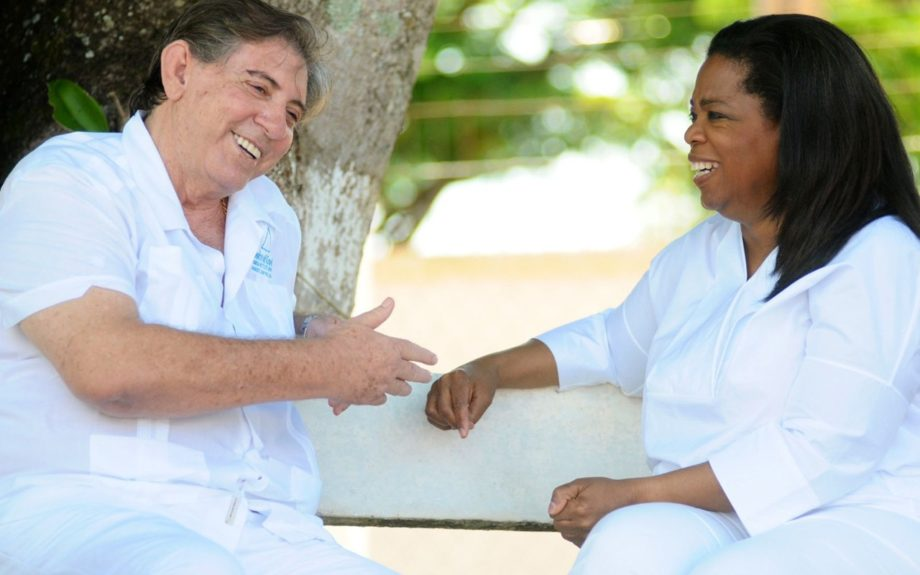 March 29, 2012: Oprah Winfrey is in Brasil to interview a spiritualist figure Joao de Deus. Joao is said to have supernatural healing powers.