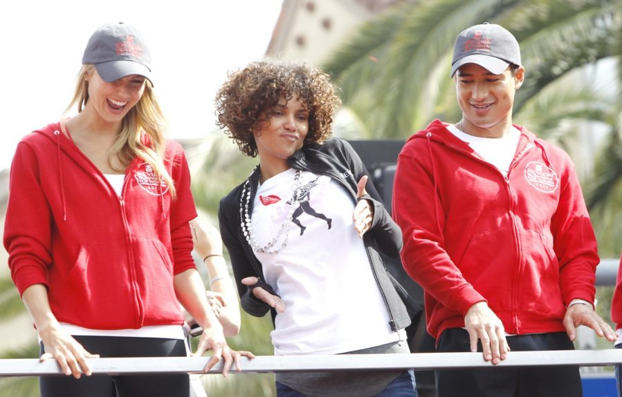 Halle Berry, Stacy Keibler, and Mario Lopez host the 2012 Entertainment Industry Foundation Revlon run/walk for women in Los Angeles, CA.