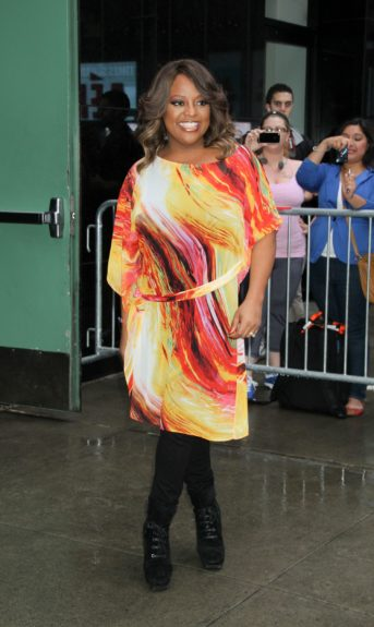 Sherri Shepherd at ABC Studios in New York City for an appearance on 'Good Morning America' to promote 'Dancing With The Stars.'