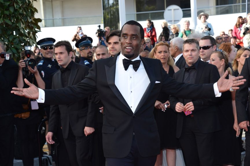 "Sean ""P. Diddy"" Combs arriving at the ""Lawless"" premiere during the 65th Cannes Film Festival in Cannes, France."