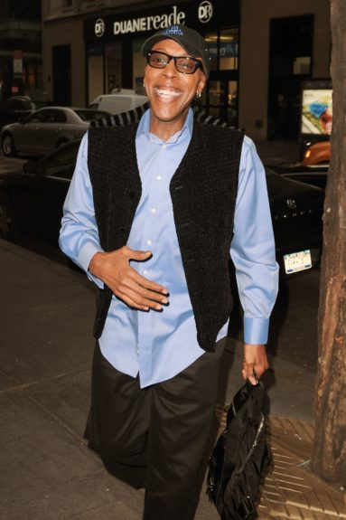 "Arsenio Hall at NBC Studios in New York City for an appearance on 'The Today Show' to promote his win on ""Celebrity Apprentice."""