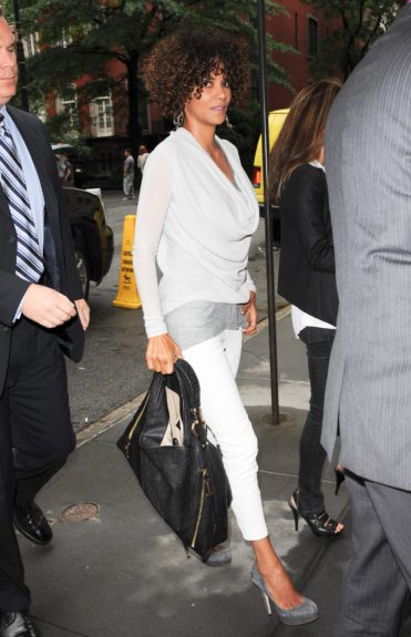 Halle Berry spotted in New York City.