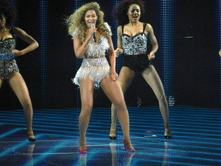 Beyonce performing her Back to Business Tour at Revel in Atlantic City, NJ.