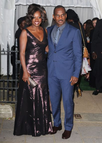 Viola Davis arriving at the 2012 Glamour Women of the Year Awards in Berkeley Square, London, UK.