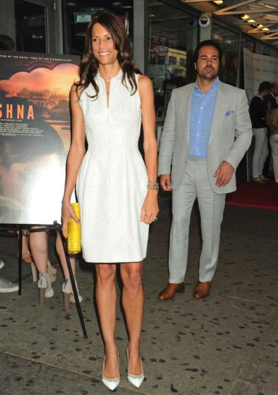 Veronica Webb attends the New York Screening of 'Trishna' held at the IFC Center in New York City.