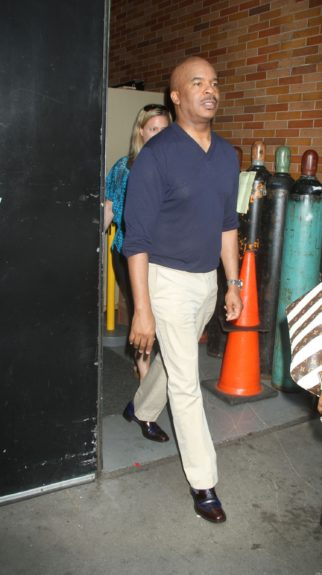 David Alan Grier at ABC Studios in New York City for an appearance on 'Good Afternoon America.'
