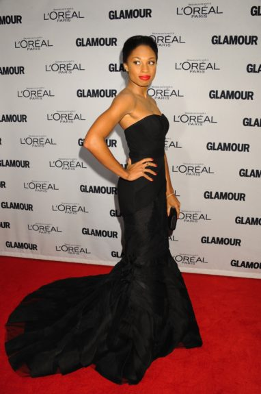 Allyson Felix attends the 2012 Glamour Women of the Year Awards, held at Carnegie Hall in New York City.