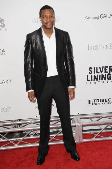 Chris Tucker arriving at the 'Silver Linings Playbook' Premiere in TriBeCa in New York City.