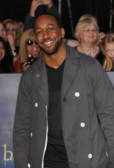 Jaleel White arriving at the premiere of Twilight : Breaking Dawn - Part 2, at The Nokia Theaters at LA Live in Los Angeles, California.