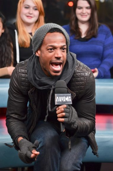 Marlon Wayans stopped by 'New.Music.Live' at 'Much Music' to promote his new movie, 'A Haunted House,' today in Toronto, Canada