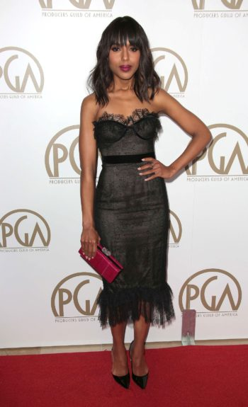 Kerry Washington at the 24th Annual Producers Guild Awards, Los Angeles, California.
