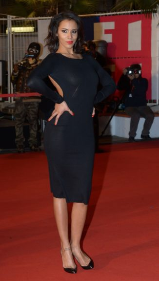 Shy'm attends the NRJ Music Awards 2013 at thePalais des Festivals in Cannes, France.