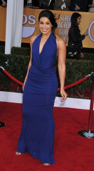 Jordin Sparks attending the 19th Annual Screen Actors Guild Awards held at The Shrine Auditorium in Los Angeles, California.