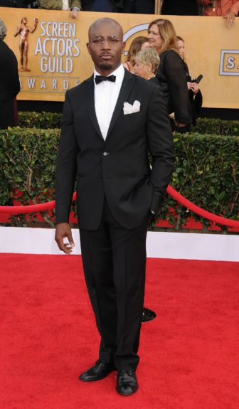 Taye Diggs attending the 19th Annual Screen Actors Guild Awards held at The Shrine Auditorium in Los Angeles, California.