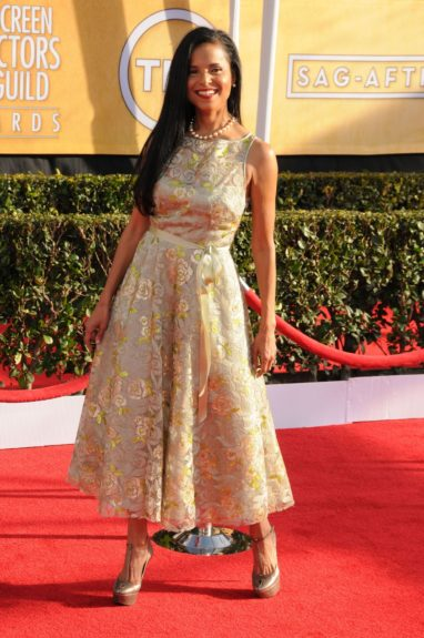 Victoria Rowell attending the 19th Annual Screen Actors Guild Awards held at The Shrine Auditorium in Los Angeles, California.