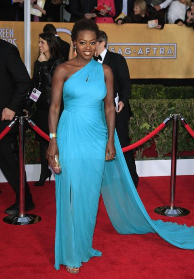 Viola Davis attends the 19th Annual Screen Actors Guild Awards held at The Shrine Auditorium in Los Angeles, California.