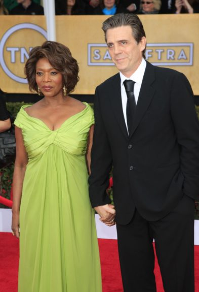 Alfre Woodard attending the 19th Annual Screen Actors Guild Awards held at The Shrine Auditorium in Los Angeles, California.
