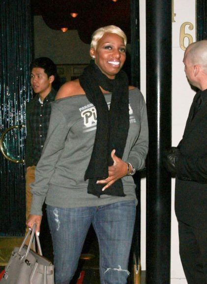 'Real Housewives of Atlanta' star NeNe Leakes dines At Mr Chow Restaurant in Beverly Hills, California.