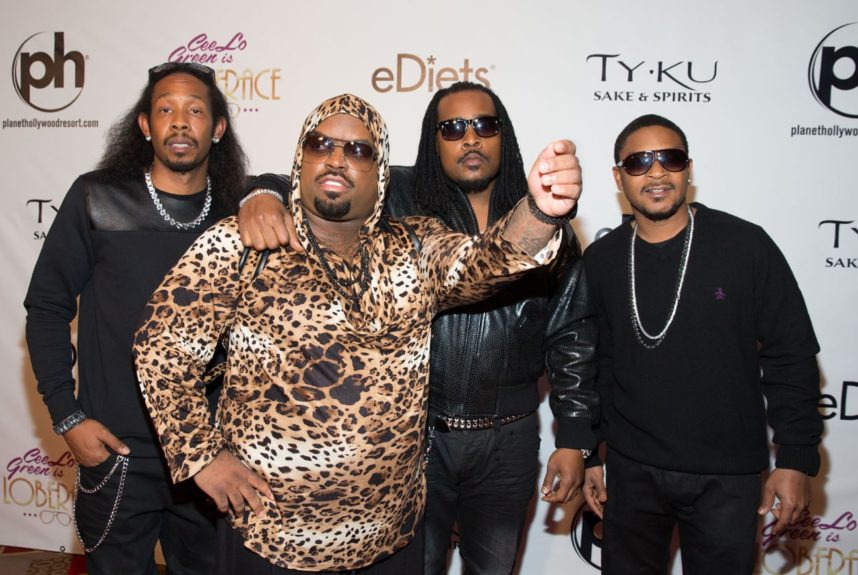 Goodie Mob attending 'Cee Lo Green PresentsLoberace' at The Showroom at Planet Hollywood Resort & Casino in Las Vegas.