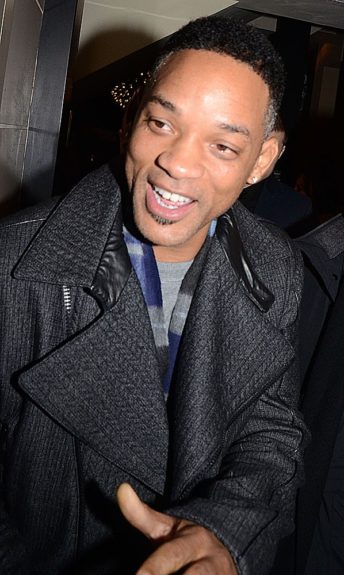 Will Smith attending the Rihanna for River Island collection launch after party at DSTRKT in London.