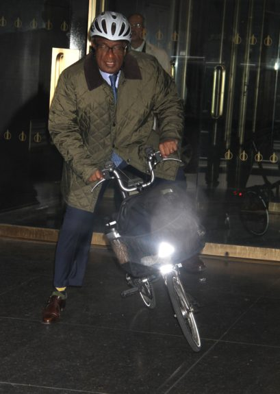 Al Roker at NBC Studios in New York City for an appearance on <em>The Today Show</em>.