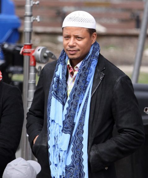 Terrence Howard just spotted on set of <em>The Best Man Holiday</em>.