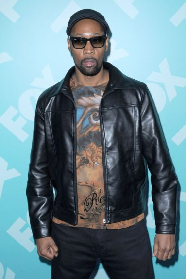 RZA at the 2013-14 FOX UpFront in New York City.