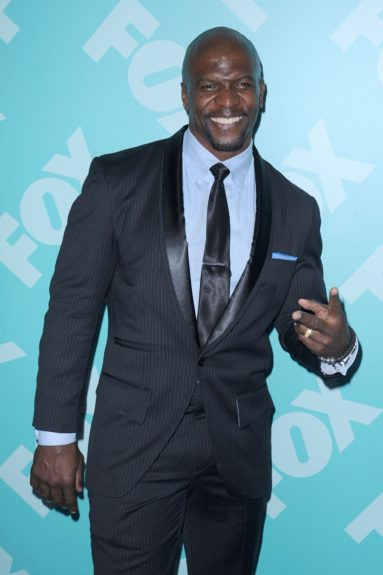 Terry Crews at the 2013-2014 FOX UpFront in New York City.