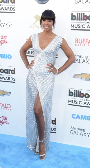 Kelly Rowland attending the <em>Billboard</em> Music Awards at the MGM Grand in Las Vegas