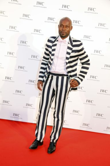 Jimmy Jean Louis attending the IWC FilmMakers dinner during the 66th Annual Cannes Film Festival in Cannes, France.