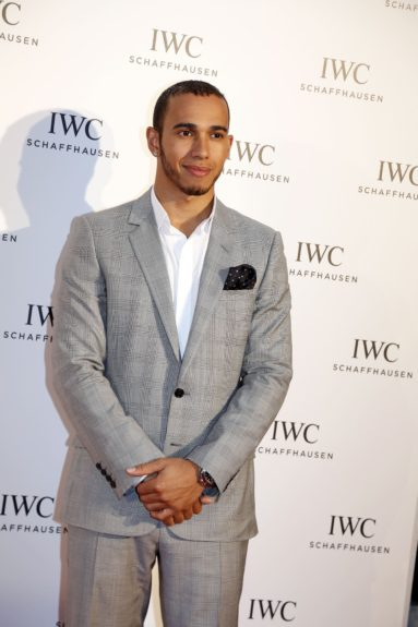 Lewis Hamilton attending the IWC FilmMakers dinner during the 66th Annual Cannes Film Festival in Cannes, France.