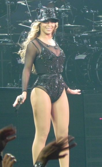 Beyoncé performs during 'The Mrs. Carter Show World Tour' at the Staples Center in Los Angeles, California. Mandatory Credit: INFphoto.com