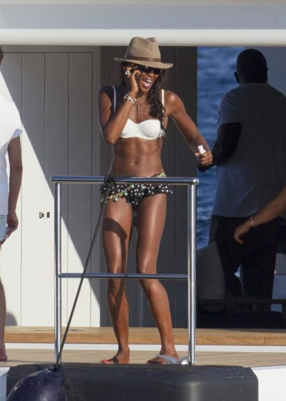 "<span id=""ctl00_ctl00_TopMasterPlaceHolder_ContentPlaceHolder1_lblAssetCaption"">Naomi Campbell parties on the Galactica Star yacht while on holiday in Ibiza, Spain. She was later invited to a party on a neighboring yacht in the sea. </span>"