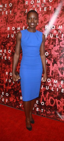 September 19, 2013: Lupita Nyong'o attending the opening night of <em>Romeo & Juliet </em>at the Richard Rodgers Theatre in New York City. Mandatory Credit: Roger Wong/INFphoto.com Ref.: infusny-146
