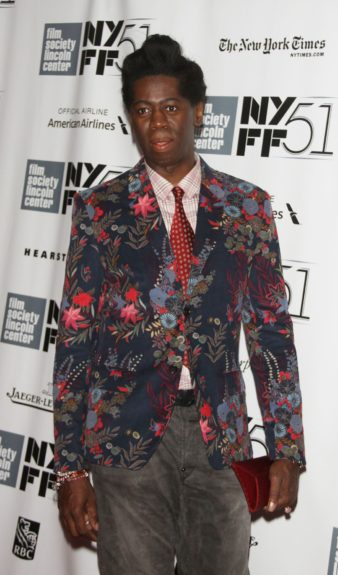 J. Alexander attendingthe 51st New York Film Festival presents<em>12 Years a Slave</em>at Alice Tully Hall at Lincoln Center in New York City.