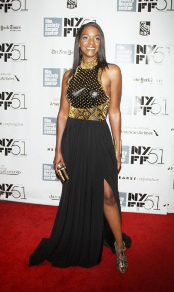 Kelsey Scott attendingthe 51st New York Film Festival presents<em>12 Years a Slave</em>at Alice Tully Hall at Lincoln Center in New York City.