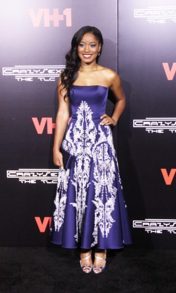 Keke Palmer attending VH1's premiere of <em>CrazySexyCool: The TLC Story</em> at AMC Loews Lincoln Square in New York City.